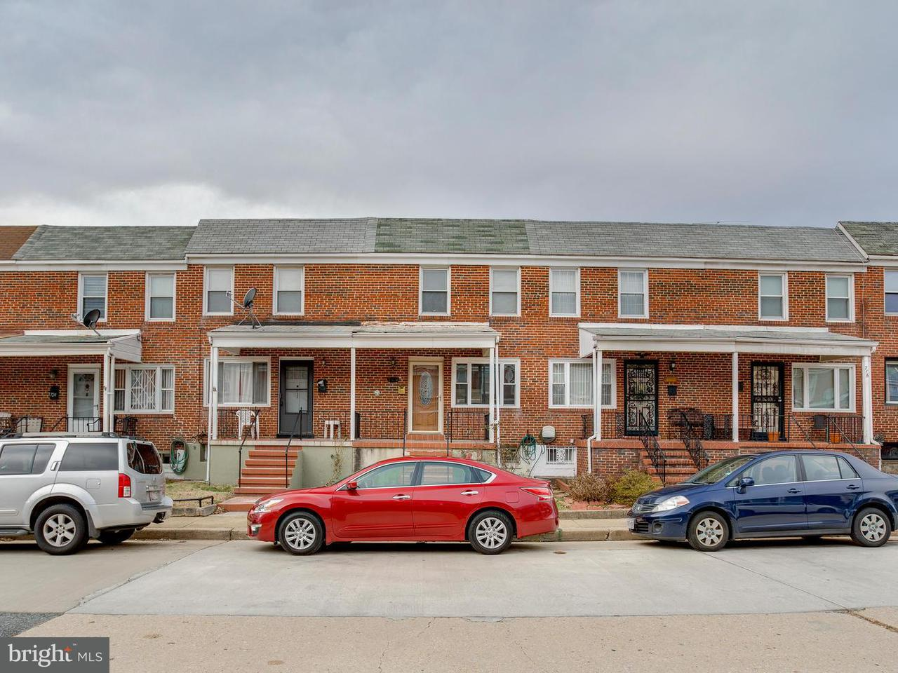 Single Family for Sale at 720 Umbra St Baltimore, Maryland 21224 United States