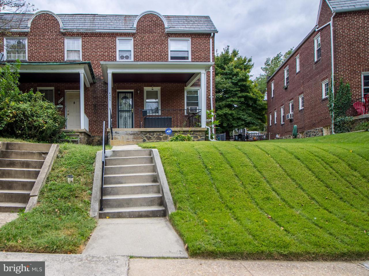 Single Family for Sale at 4655 Harcourt Rd Baltimore, Maryland 21214 United States