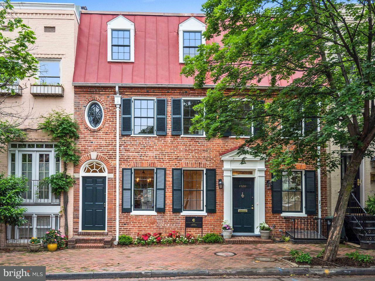 Townhouse for Sale at 1320 29th St Nw 1320 29th St Nw Washington, District Of Columbia 20007 United States
