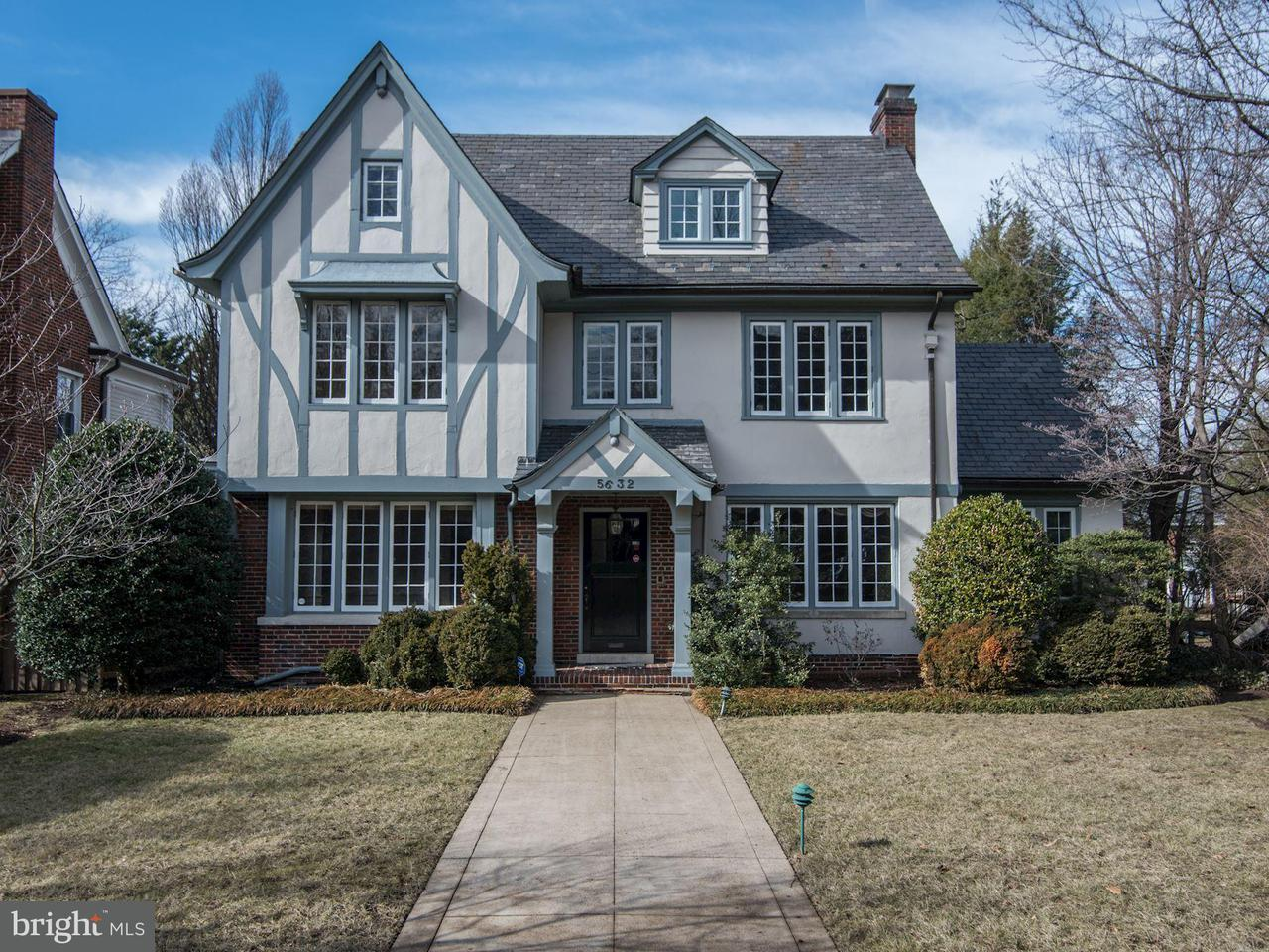 Single Family Home for Sale at 5632 Western Avenue 5632 Western Avenue Chevy Chase, Maryland 20815 United States