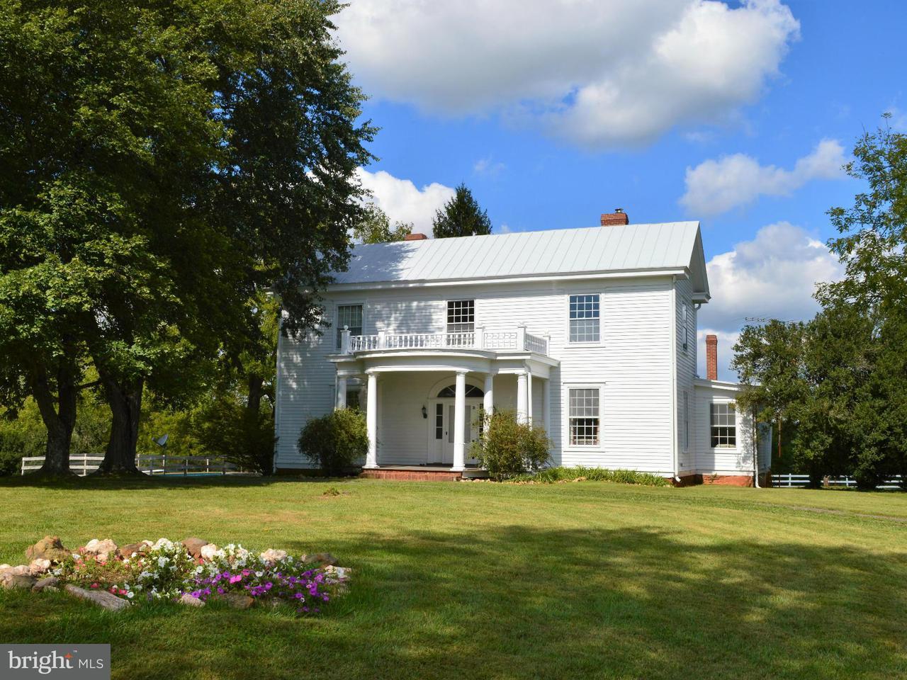 Farm for Sale at 13406 Mt Zion Church Road 13406 Mt Zion Church Road Culpeper, Virginia 22701 United States