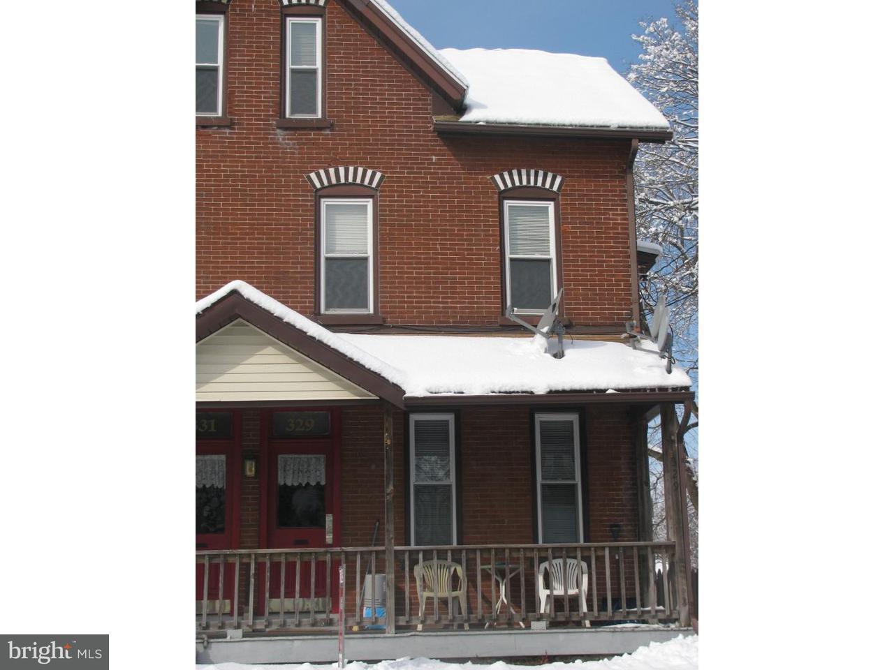 дуплекс для того Аренда на 329 WALNUT ST #2ND FL Spring City, Пенсильвания 19475 Соединенные Штаты