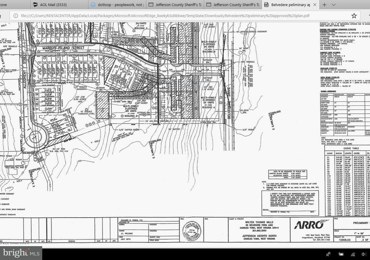 Land für Verkauf beim 38 Belvedere Farm Lane 38 Belvedere Farm Lane Charles Town, West Virginia 25414 Vereinigte Staaten