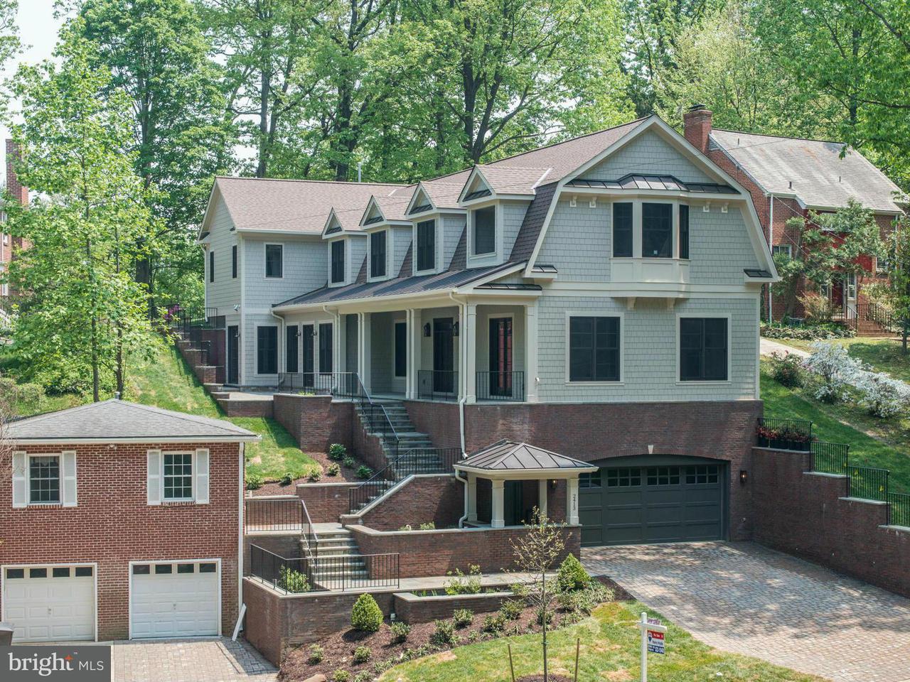 Single Family Home for Sale at 2413 N Vernon Street 2413 N Vernon Street Arlington, Virginia 22207 United States