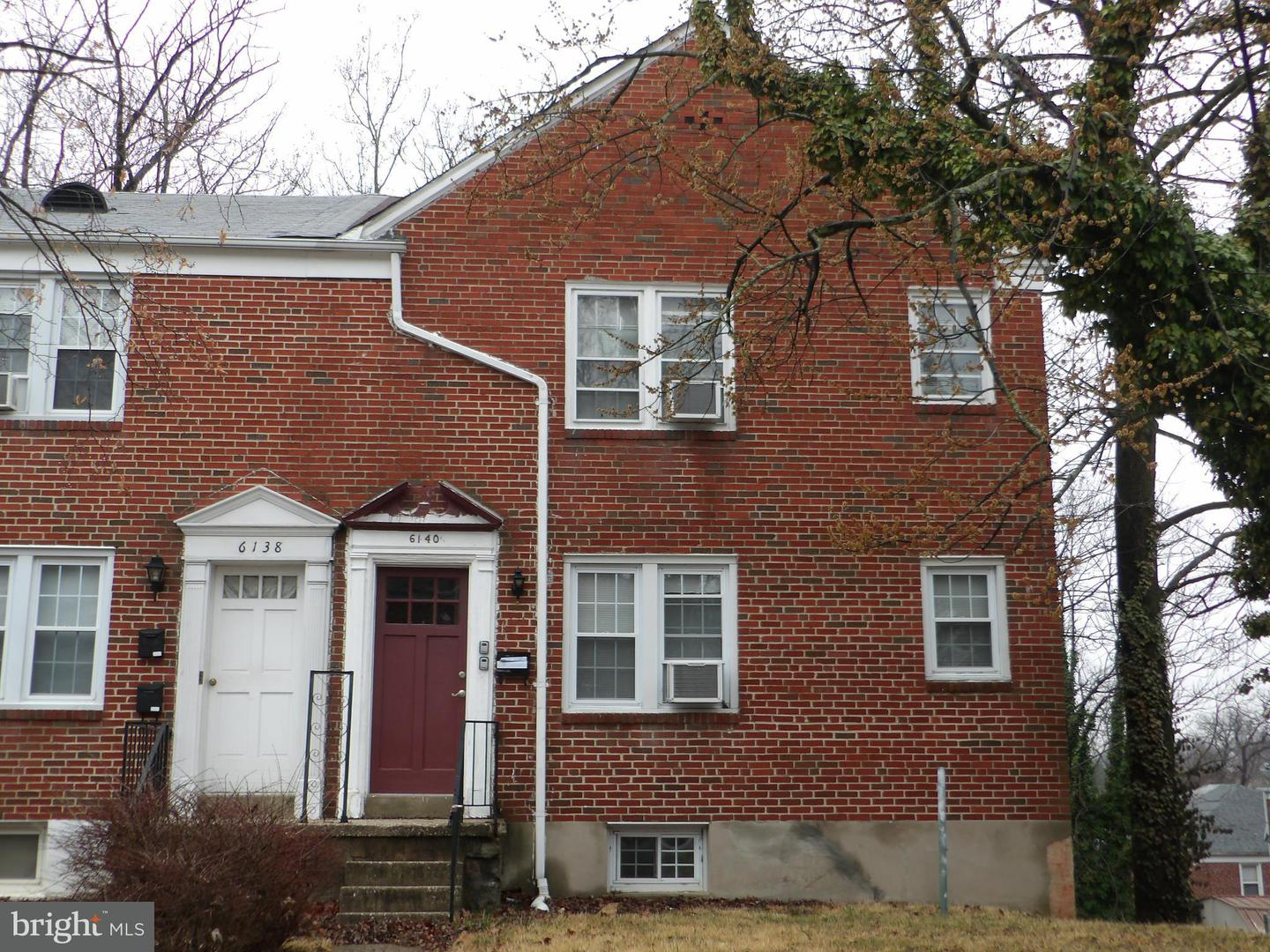 Single Family for Sale at 6140 Macbeth Dr Baltimore, Maryland 21239 United States
