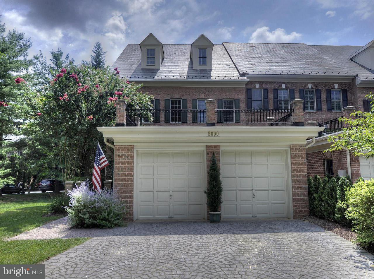 Townhouse for Sale at 9600 Beman Woods Way 9600 Beman Woods Way Potomac, Maryland 20854 United States