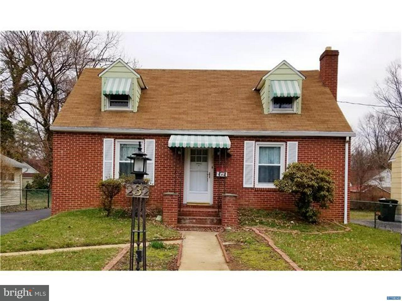 Single Family Home for Rent at 232 KELLS Avenue Newark, Delaware 19711 United States
