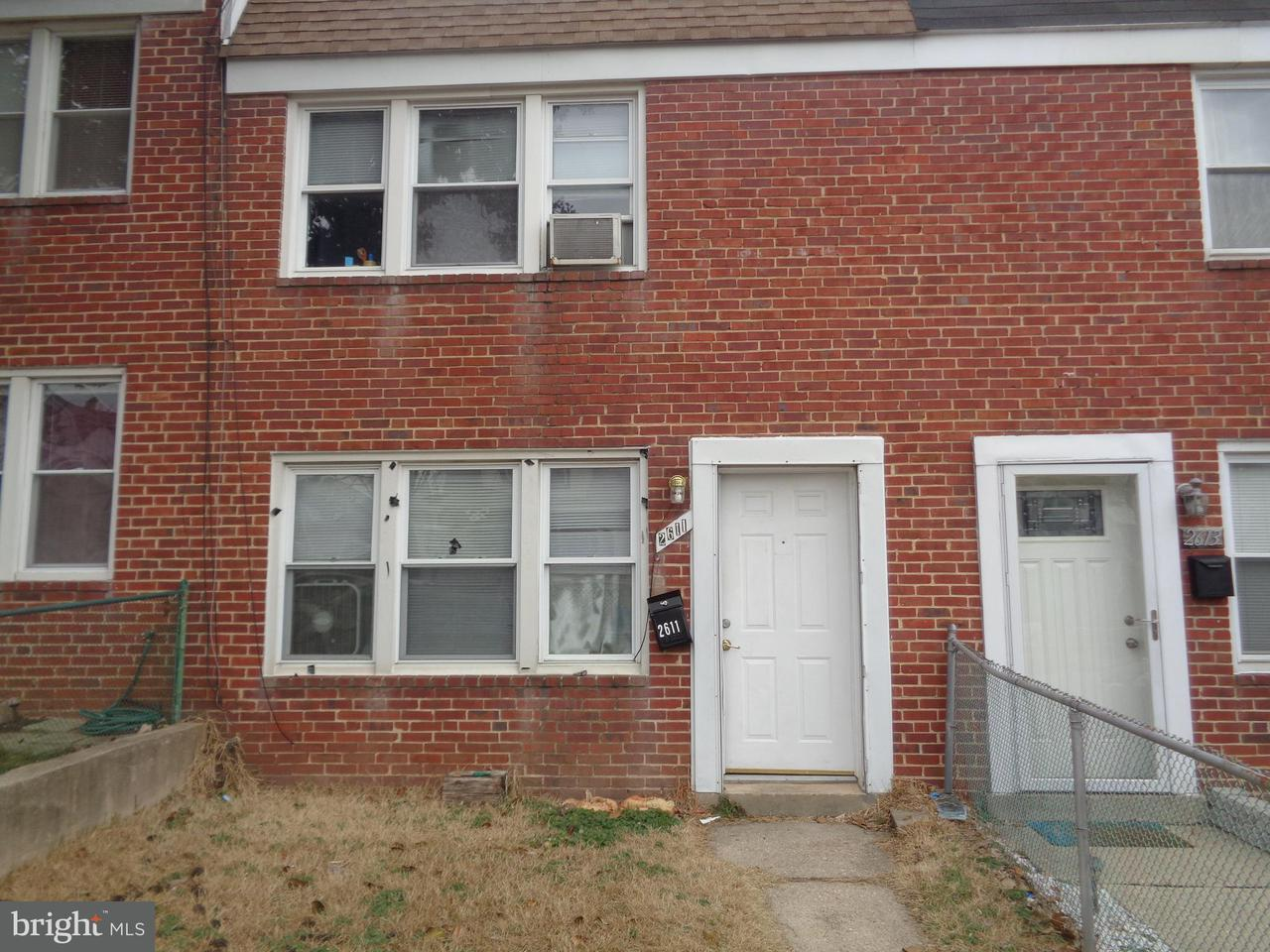 Single Family for Sale at 2611 Rittenhouse Ave Baltimore, Maryland 21230 United States