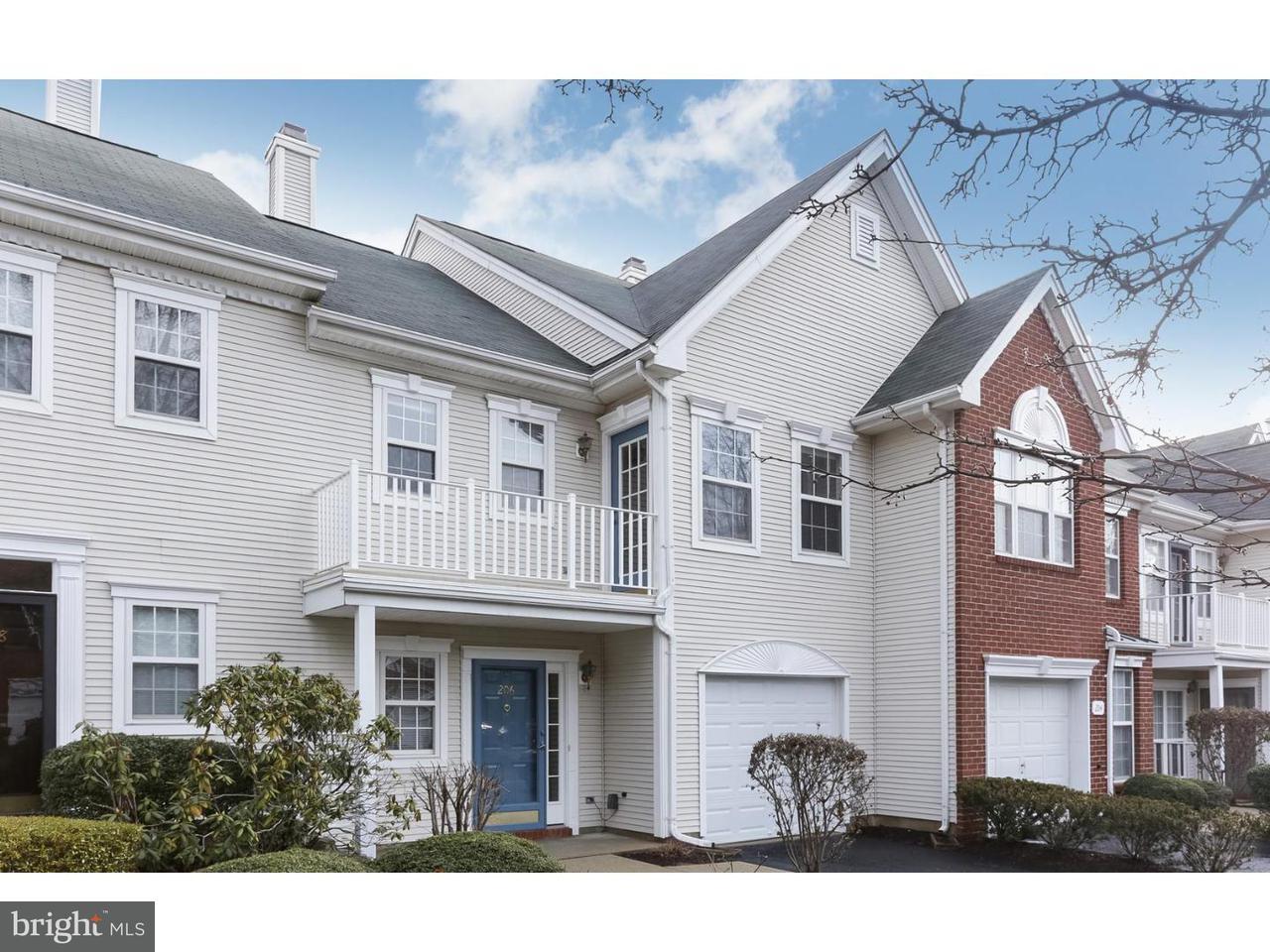 Maison accolée pour l à louer à 206 SANDPIPER Court Pennington, New Jersey 08534 États-UnisDans/Autour: Hopewell Township