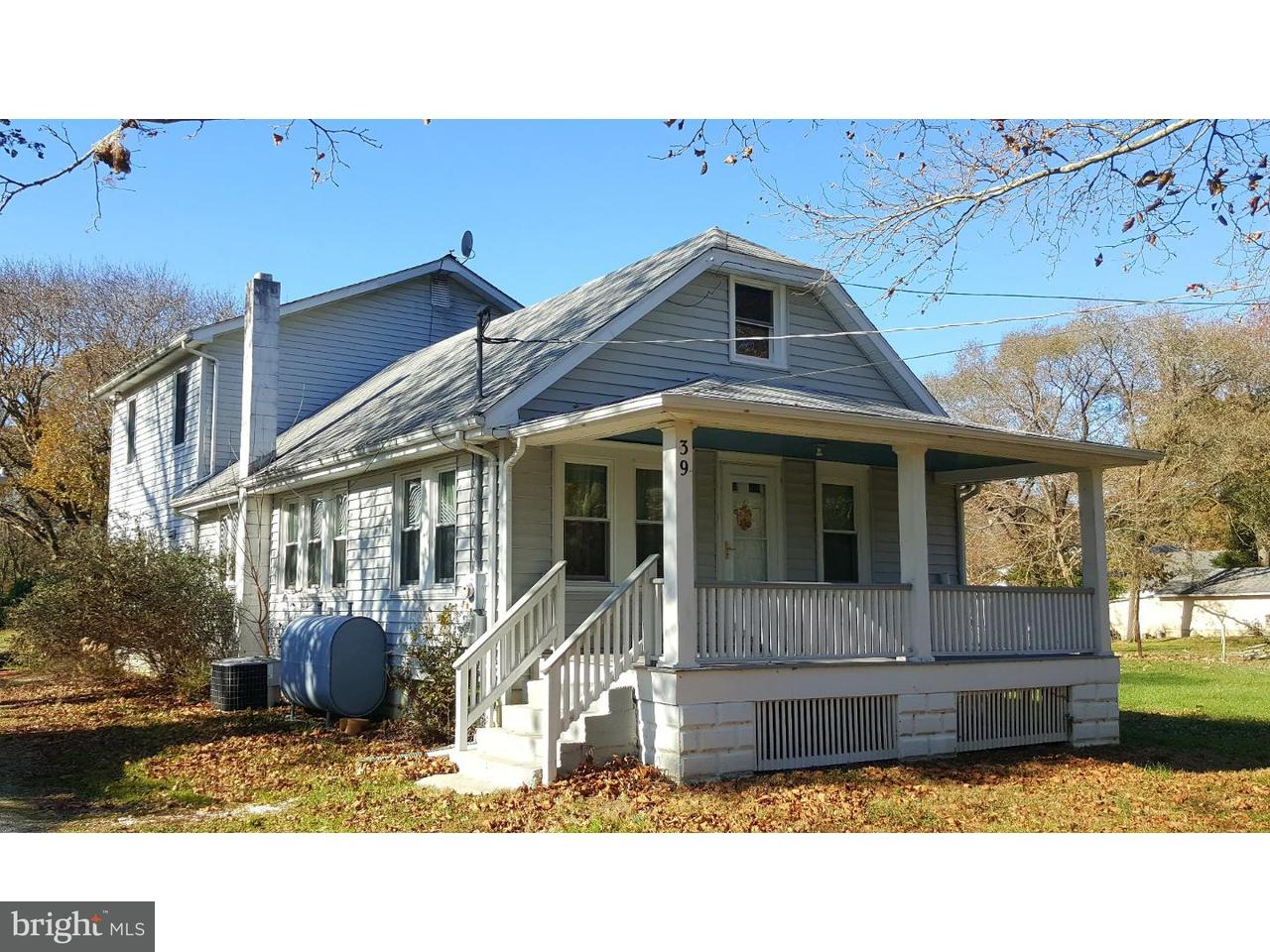 Single Family Home for Sale at 39 JERICHO Road Salem, New Jersey 08079 United States