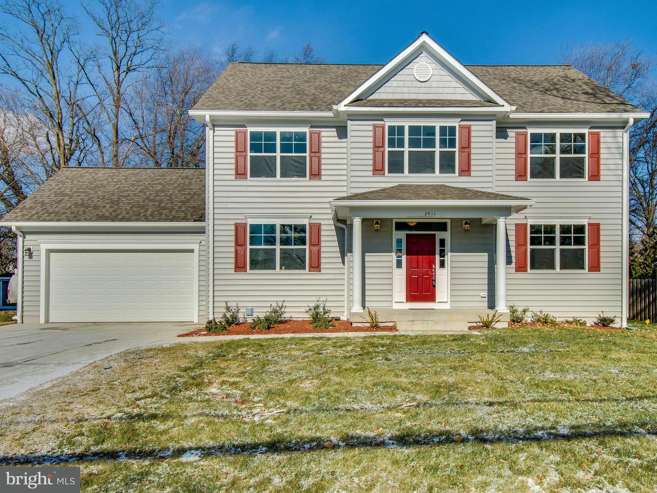 Single Family Home for Sale at 2411 Parker Avenue 2411 Parker Avenue Silver Spring, Maryland 20902 United States