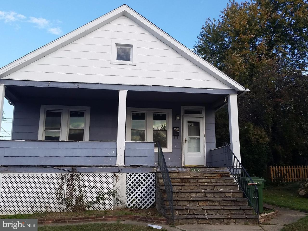 Single Family for Sale at 4604 Simms Ave Baltimore, Maryland 21206 United States