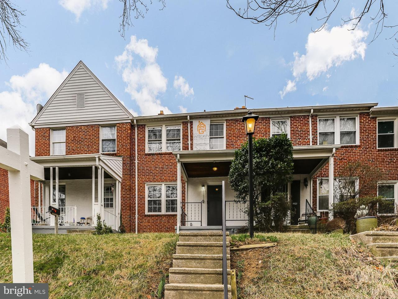 Single Family for Sale at 1425 Kitmore Rd Baltimore, Maryland 21239 United States