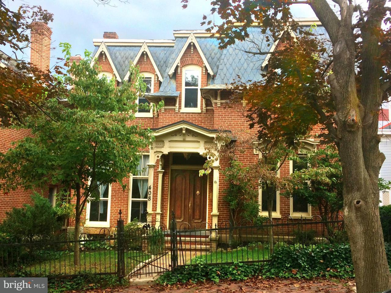 Single Family for Sale at 408 Washington St Cumberland, Maryland 21502 United States