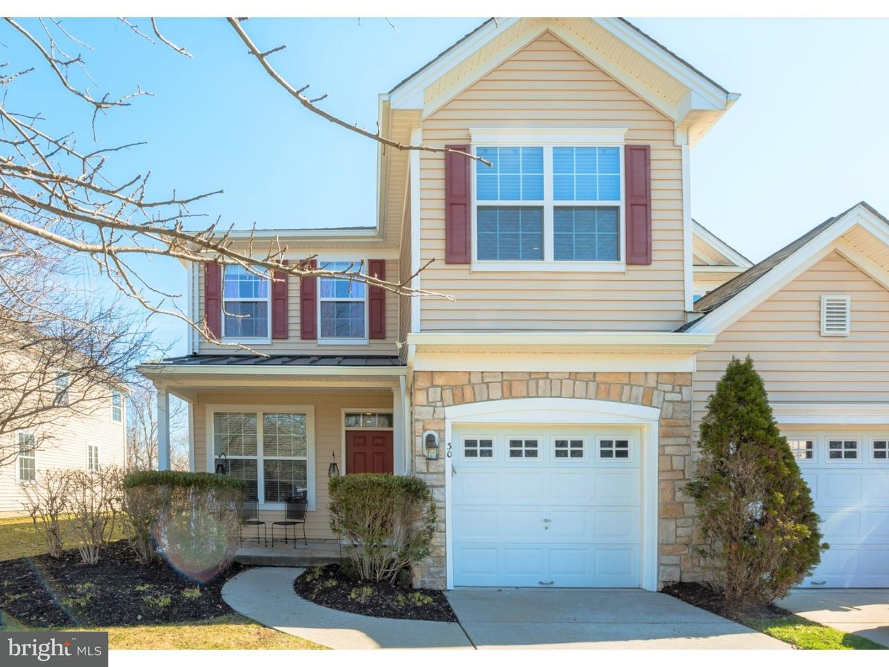 Townhouse for Sale at 30 CROWS NEST Court Mount Laurel, New Jersey 08054 United States