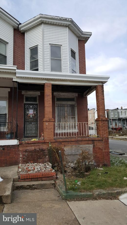 Single Family for Sale at 1654 Bentalou St Baltimore, Maryland 21216 United States