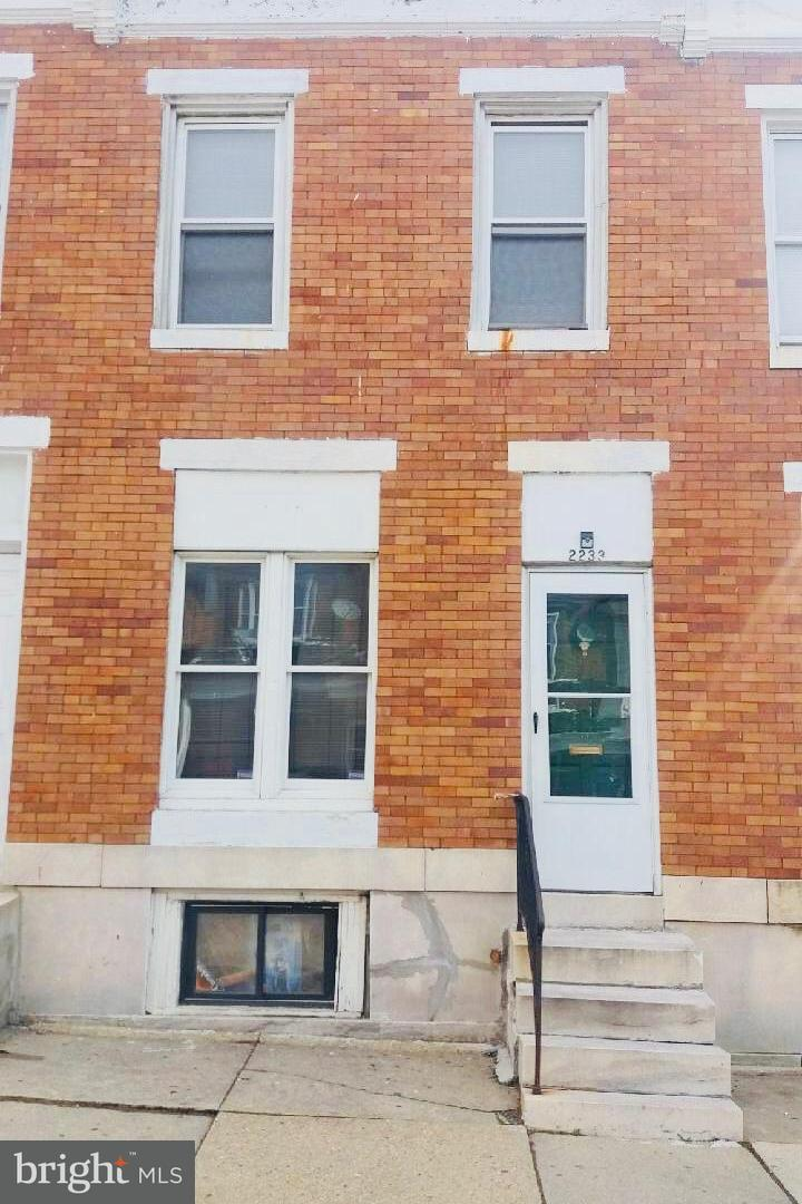 Single Family for Sale at 2233 Fayette St Baltimore, Maryland 21223 United States