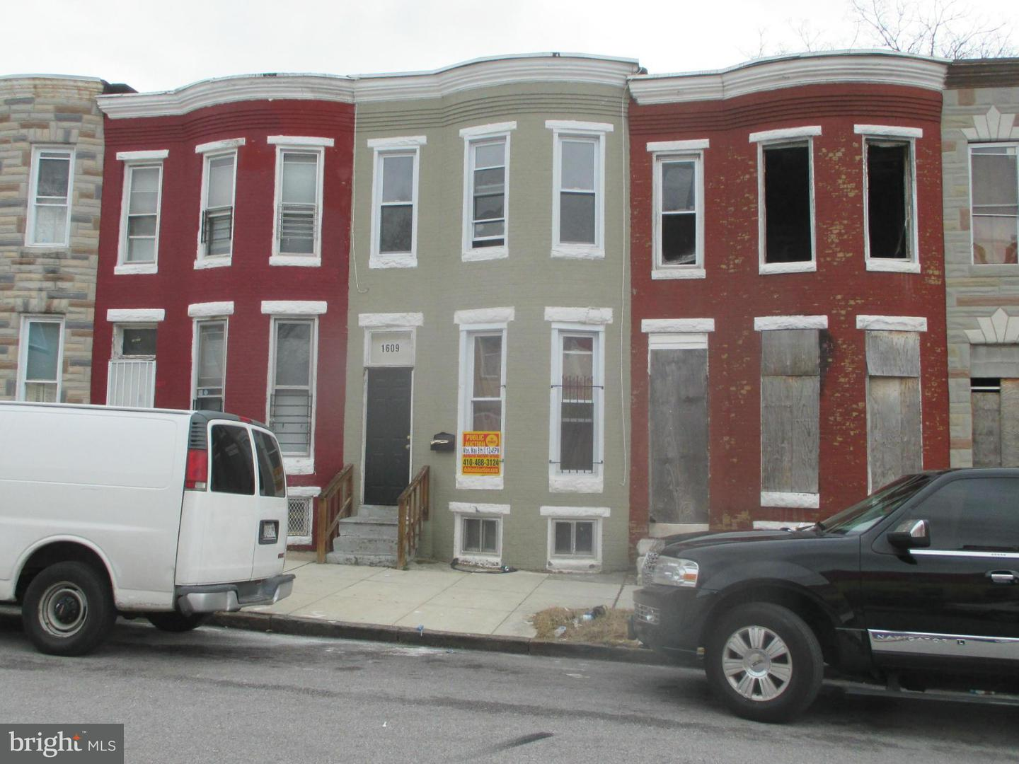 Photo of home for sale at 1609 Mckean Avenue, Baltimore MD