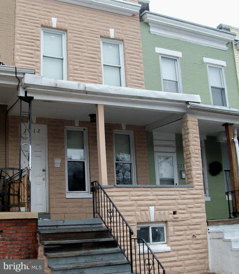 Single Family for Sale at 2312 Sidney Ave Baltimore, Maryland 21230 United States