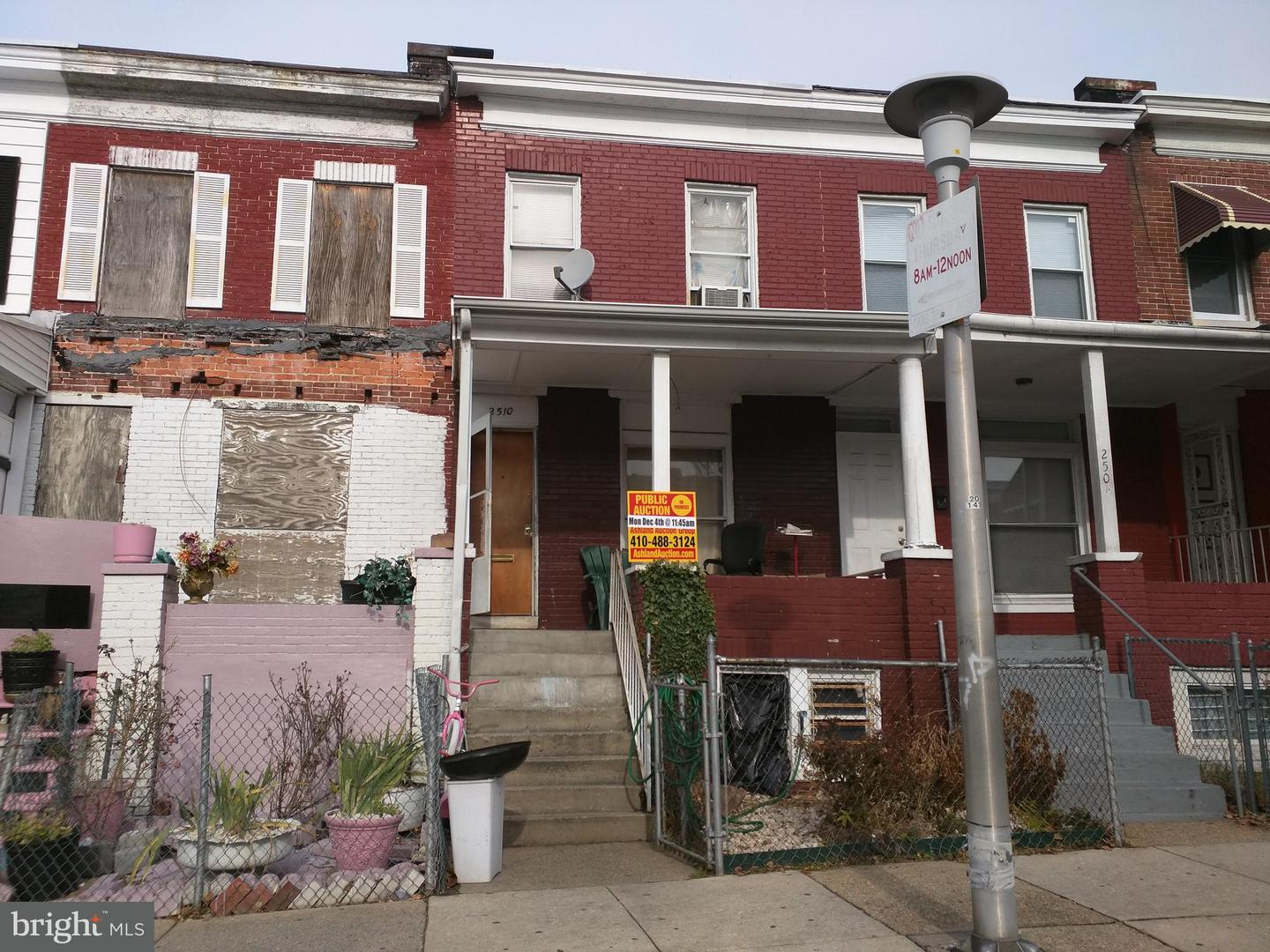 Single Family for Sale at 2510 Lauretta Ave Baltimore, Maryland 21223 United States