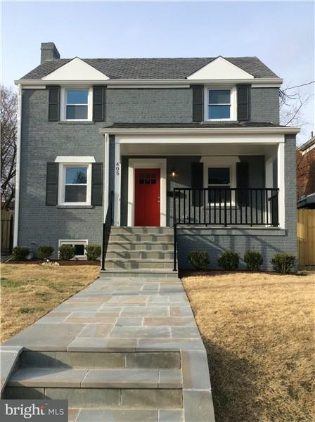 Single Family Home for Sale at 405 Quackenbos St Nw 405 Quackenbos St Nw Washington, District Of Columbia 20011 United States