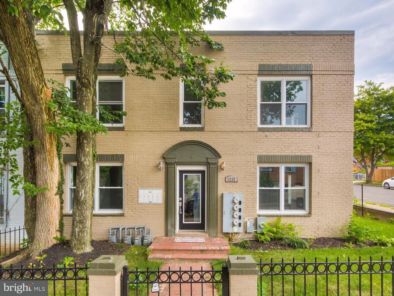 Condominium for Sale at 1232 16th St NE #1 Washington, District Of Columbia 20002 United States