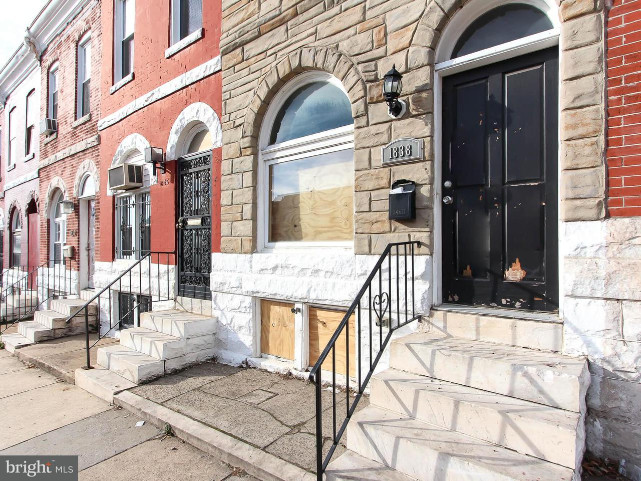 Other Residential for Rent at 1838 Rutland Ave Baltimore, Maryland 21213 United States