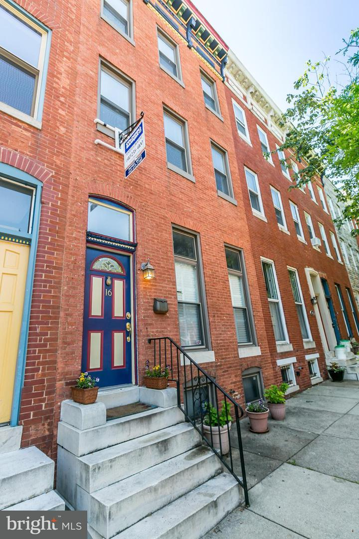 Single Family for Sale at 16 Chester St N Baltimore, Maryland 21231 United States