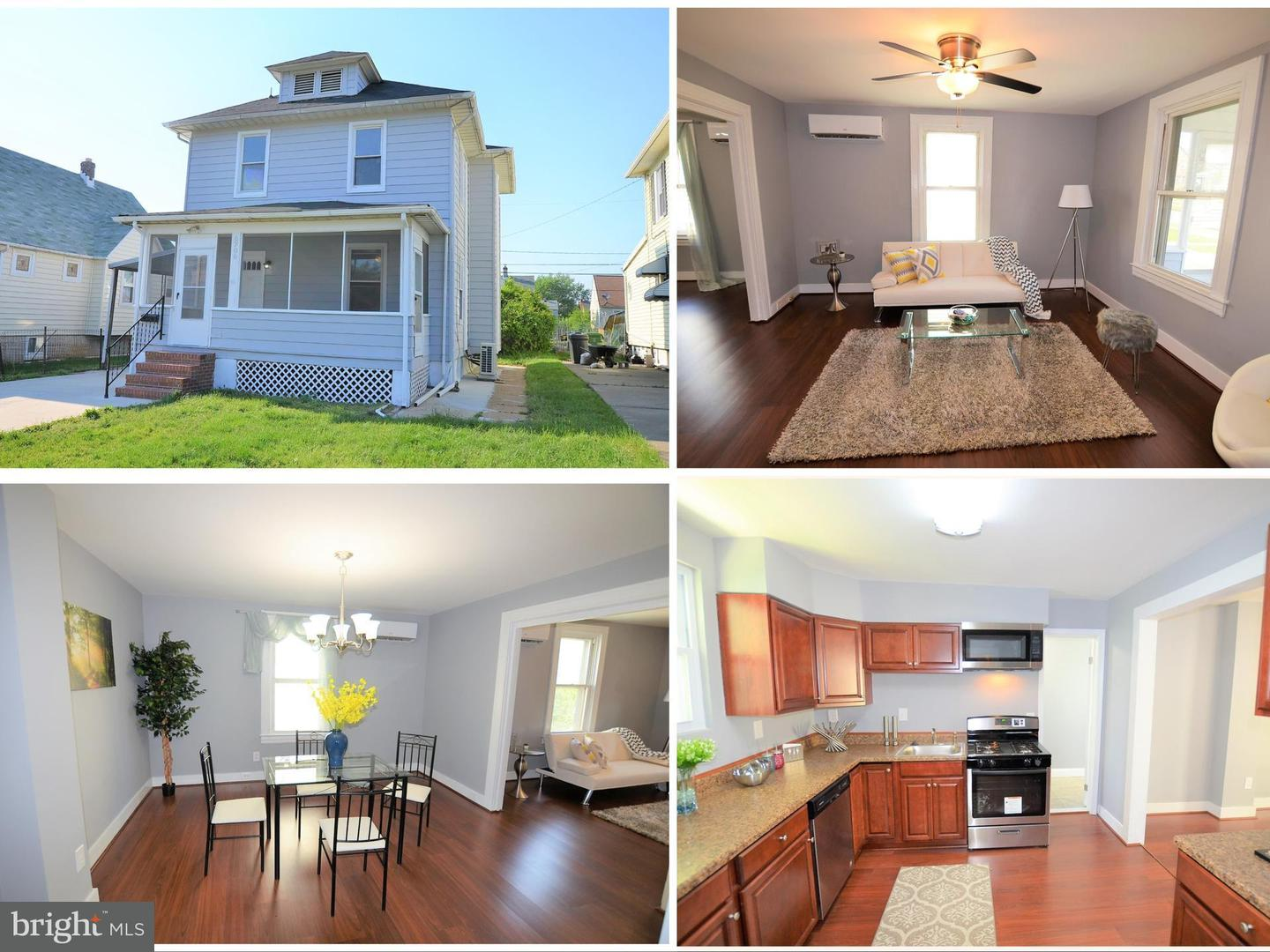 Single Family for Sale at 6706 Bessemer Ave Baltimore, Maryland 21222 United States