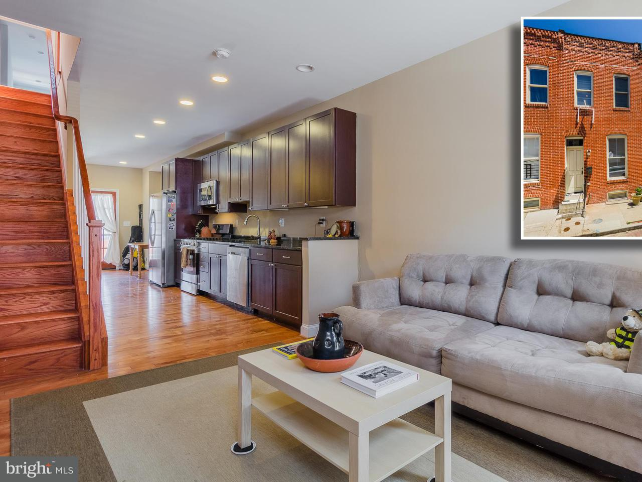 Single Family for Sale at 207 Belnord Ave N Baltimore, Maryland 21224 United States