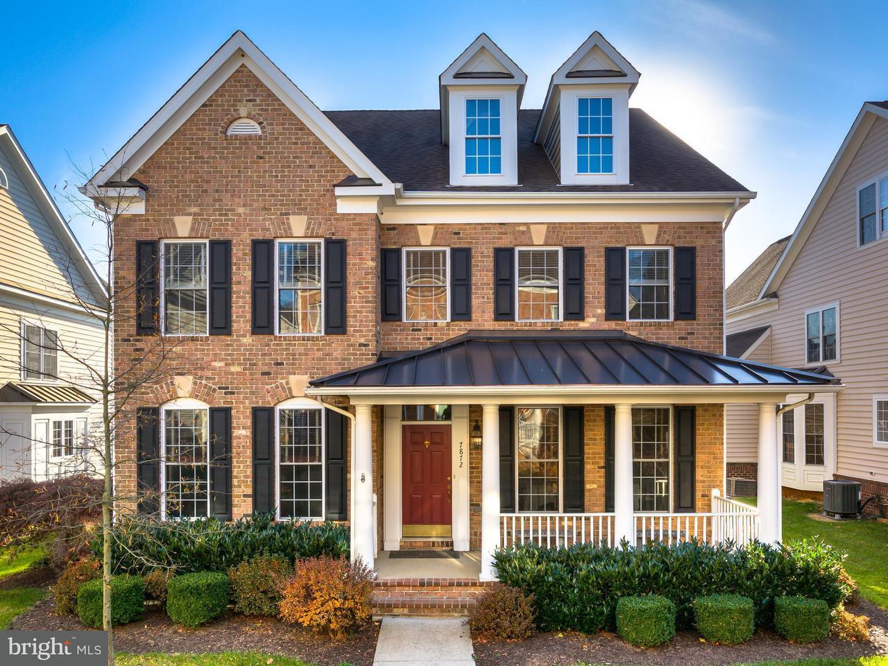 獨棟家庭住宅 為 出售 在 7872 Promontory Court 7872 Promontory Court Dunn Loring, 弗吉尼亞州 22027 美國