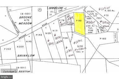 Land for Sale at 18711 Brooke Rd Sandy Spring, Maryland 20860 United States