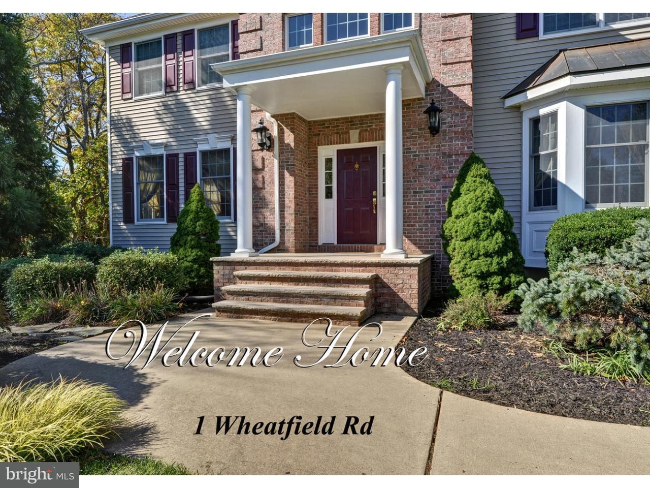 Casa Unifamiliar por un Alquiler en 1 WHEATFIELD RD #1 Cranbury, Nueva Jersey 08512 Estados UnidosEn/Alrededor: Cranbury Township