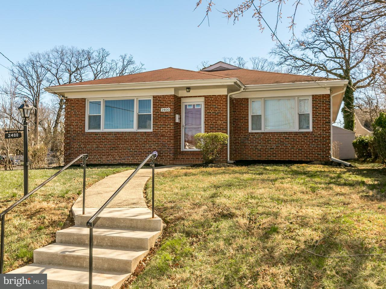 Single Family for Sale at 2400 Overland Ave Baltimore, Maryland 21214 United States
