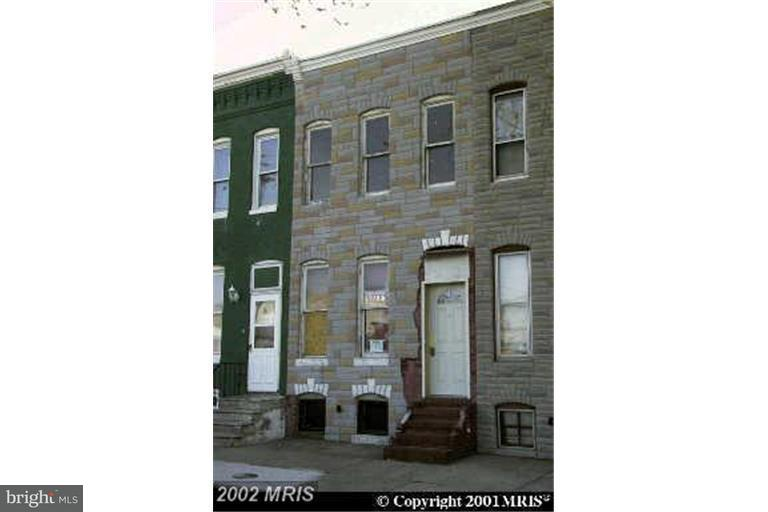 Single Family for Sale at 607 Bentalou St Baltimore, Maryland 21223 United States