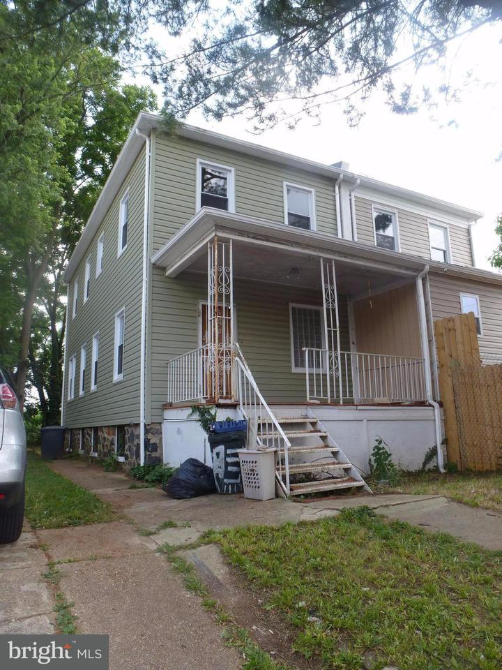 Single Family for Sale at 4117 Hayward Ave Baltimore, Maryland 21215 United States