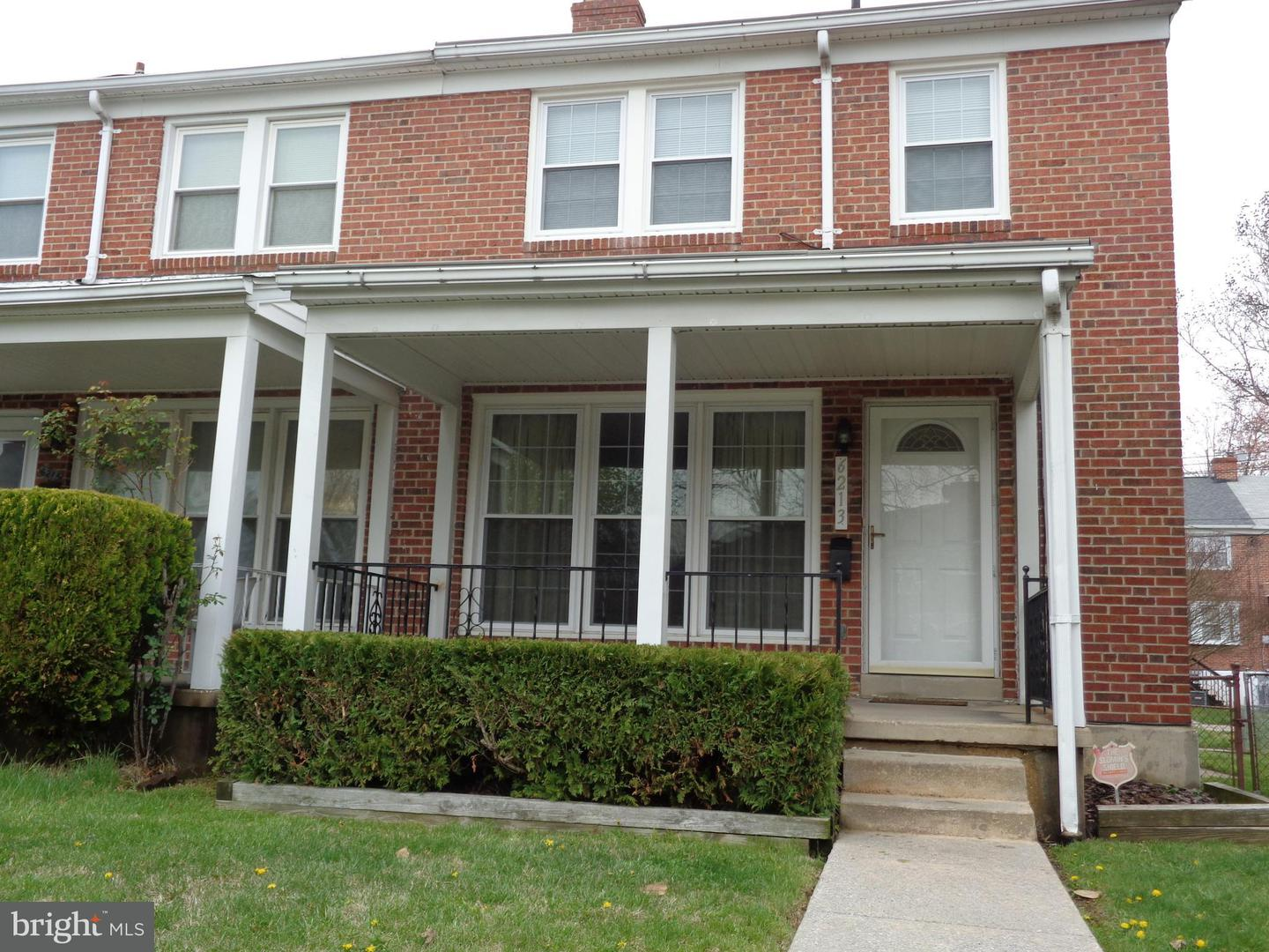 Single Family for Sale at 6213 Marlora Rd Baltimore, Maryland 21239 United States