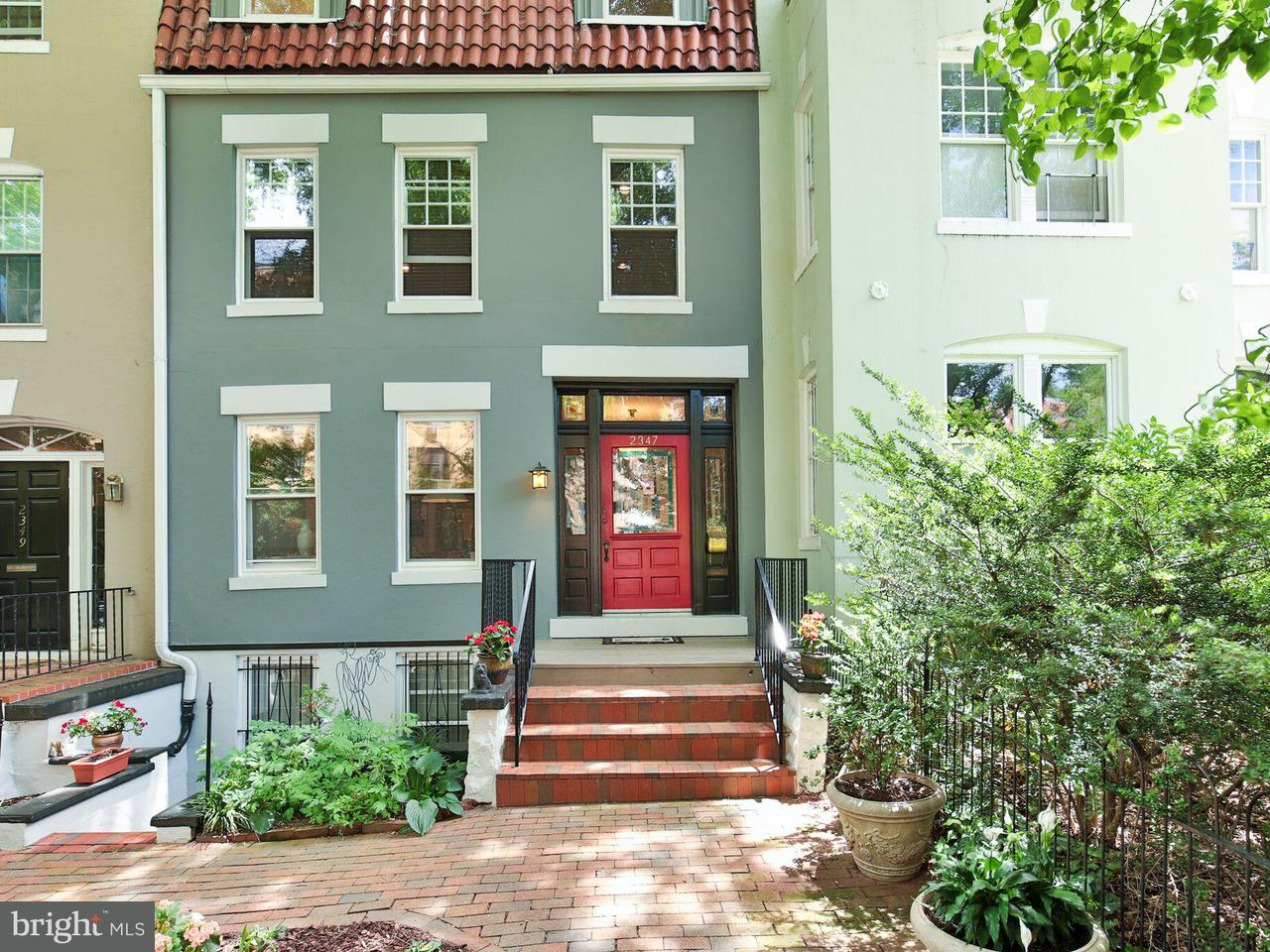 Townhouse for Sale at 2347 Ashmead Pl Nw 2347 Ashmead Pl Nw Washington, District Of Columbia 20009 United States