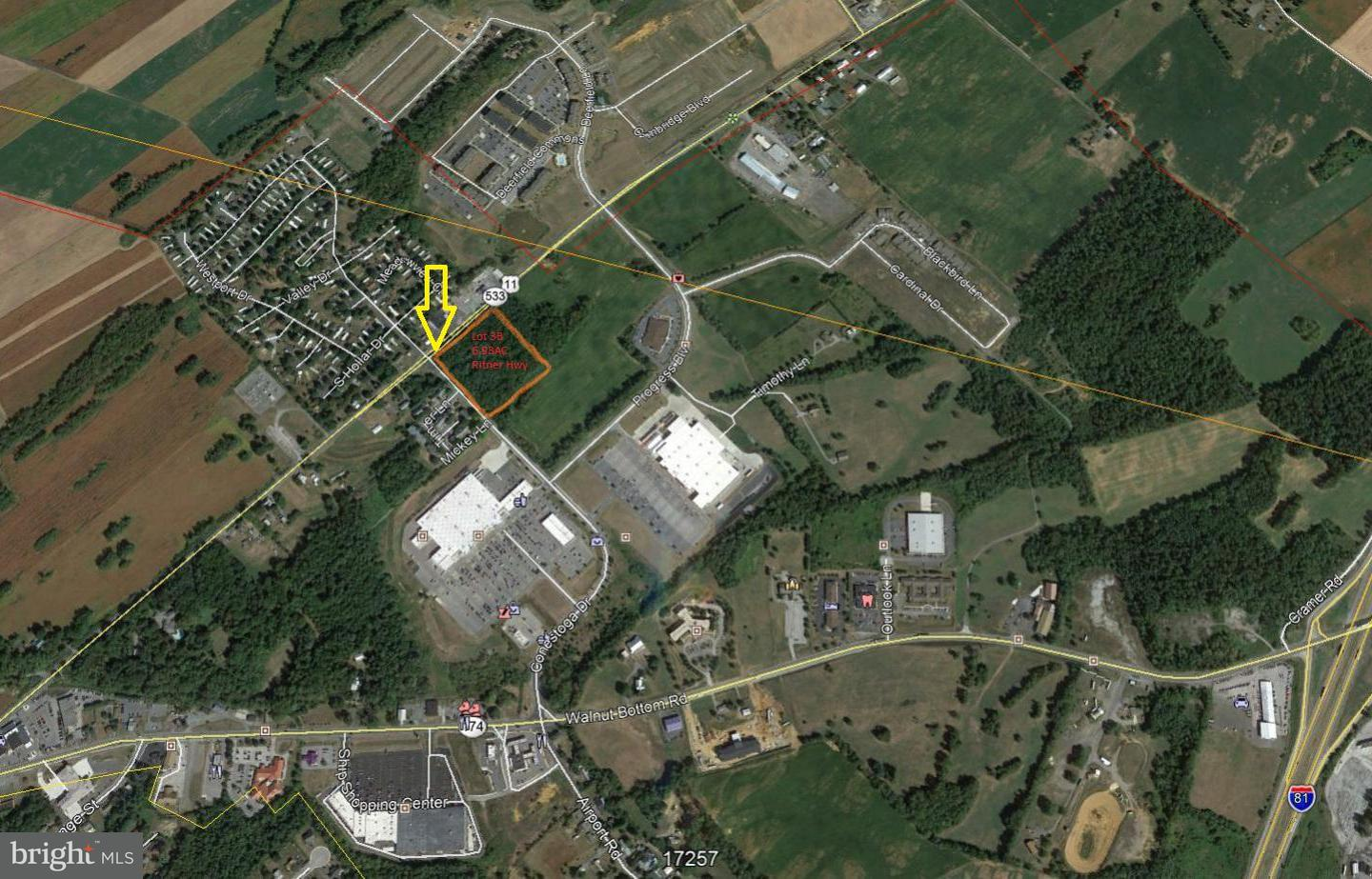 Land for Sale at Ritner Hwy Shippensburg, Pennsylvania 17257 United States