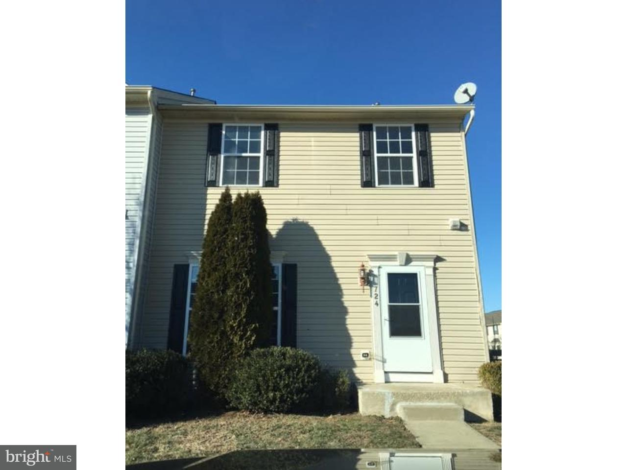 Townhouse for Rent at 724 BIRCH TREE Lane Smyrna, Delaware 19977 United States