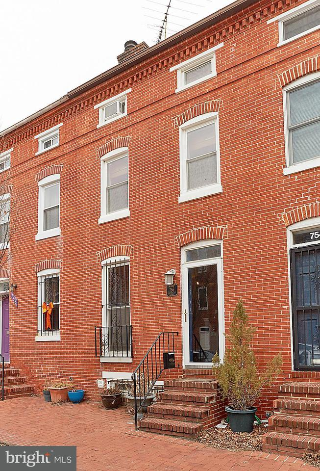 Single Family for Sale at 756 Mchenry St Baltimore, Maryland 21230 United States