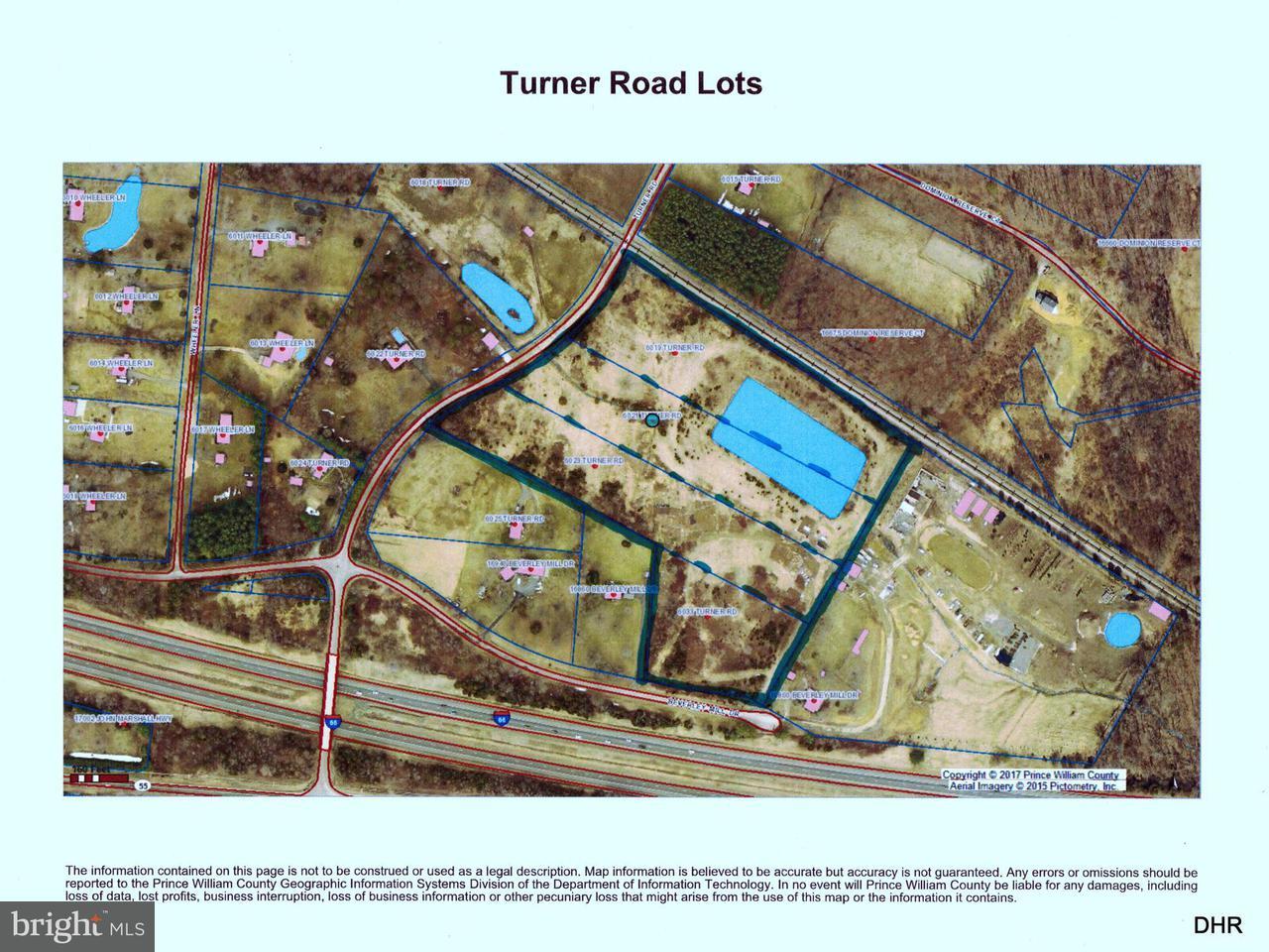 토지 용 매매 에 6023 Turner Road 6023 Turner Road Broad Run, 버지니아 20137 미국