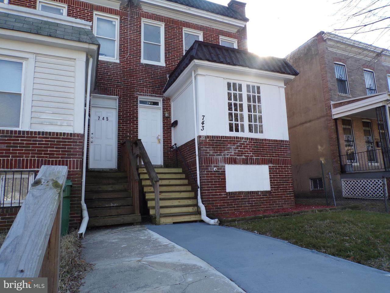 Other Residential for Rent at 743 Cator Ave Baltimore, Maryland 21218 United States