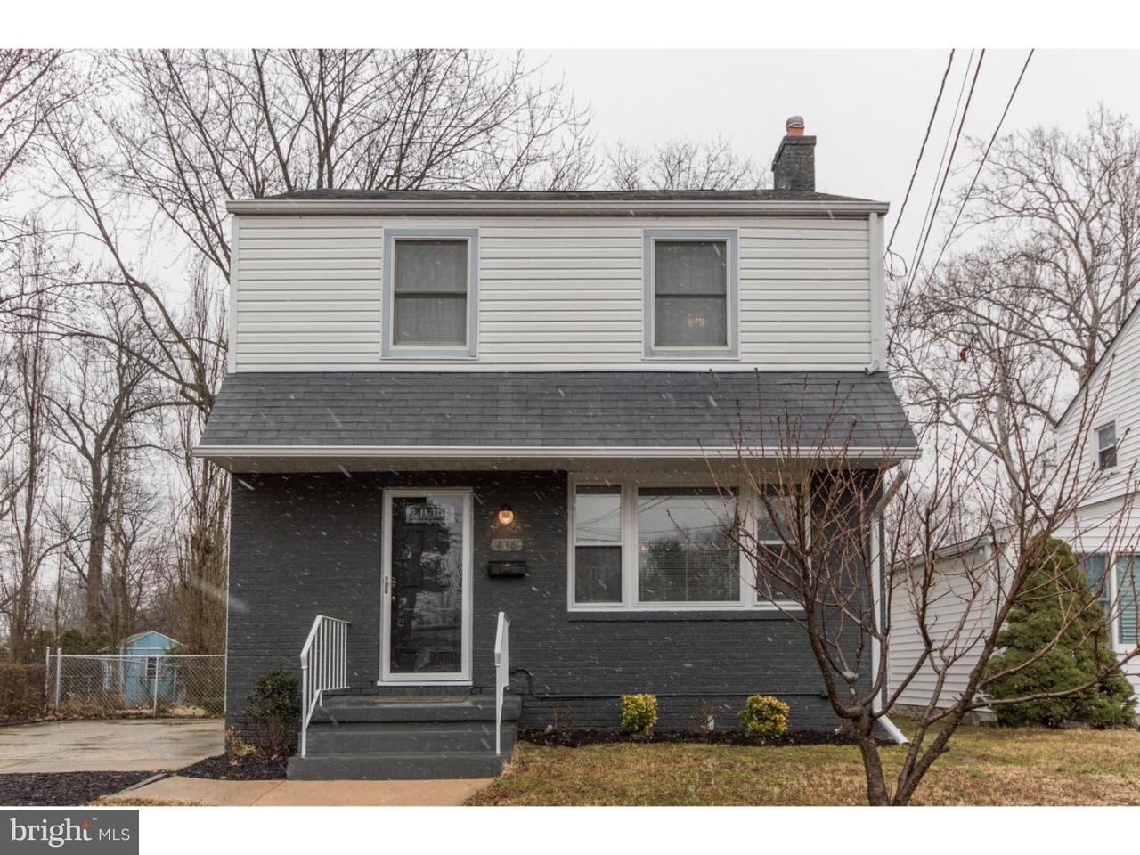 独户住宅 为 销售 在 416 GRISCOM Drive Woodbury, 新泽西州 08096 美国