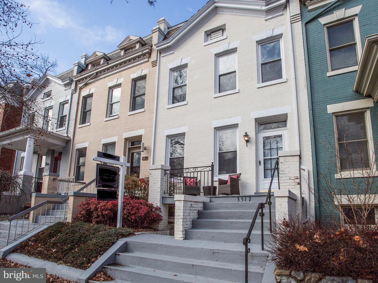 Townhouse for Sale at 3517 W Pl Nw 3517 W Pl Nw Washington, District Of Columbia 20007 United States