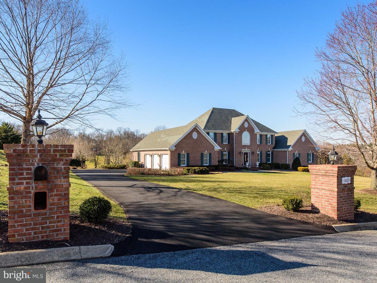 獨棟家庭住宅 為 出售 在 1409 Falls Crest Drive 1409 Falls Crest Drive Fallston, 馬里蘭州 21047 美國