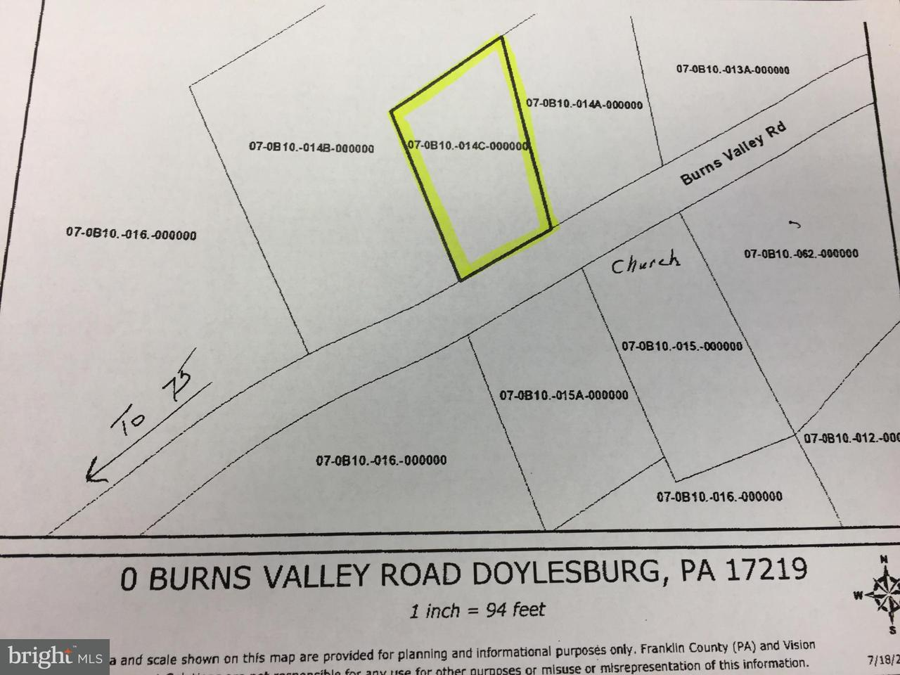 Land for Sale at 23149 Burns Valley Road Doylesburg, Pennsylvania 17219 United States