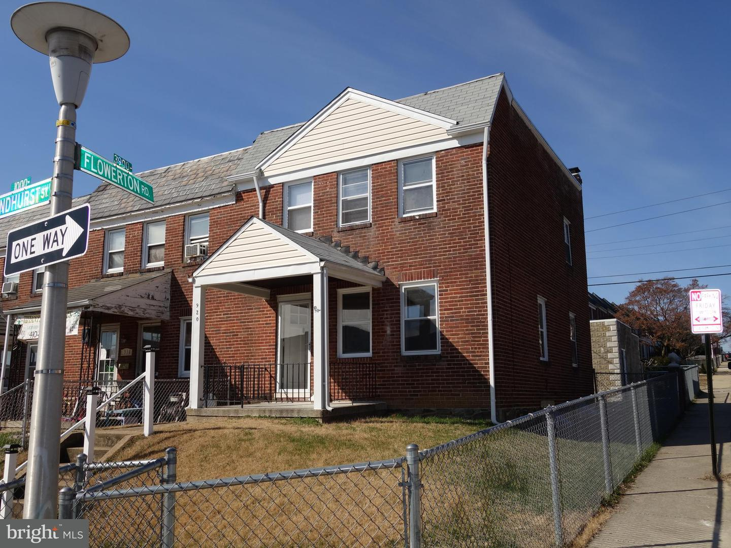Other Residential for Rent at 920 Lyndhurst St Baltimore, Maryland 21229 United States