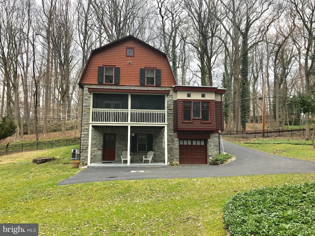 Частный односемейный дом для того Аренда на 98 CHERRY Lane Wynnewood, Пенсильвания 19096 Соединенные Штаты