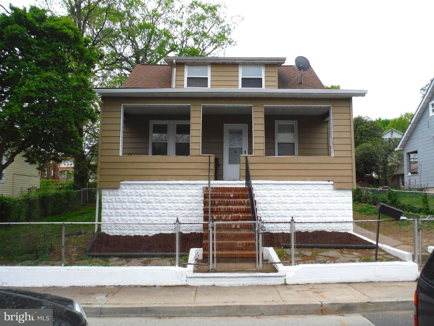Single Family for Sale at 4007 Chesmont Ave Baltimore, Maryland 21206 United States